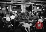 Image of automobile workers Detroit Michigan USA, 1950, second 6 stock footage video 65675067508