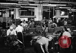 Image of automobile workers Detroit Michigan USA, 1950, second 7 stock footage video 65675067508