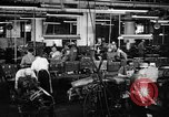 Image of automobile workers Detroit Michigan USA, 1950, second 9 stock footage video 65675067508