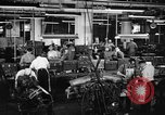 Image of automobile workers Detroit Michigan USA, 1950, second 11 stock footage video 65675067508