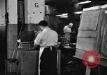 Image of automobile workers Detroit Michigan USA, 1950, second 12 stock footage video 65675067508