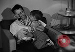 Image of family of American automobile worker Detroit Michigan USA, 1950, second 11 stock footage video 65675067510