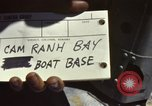 Image of naval bases Cam Ranh Bay Vietnam, 1970, second 6 stock footage video 65675067522