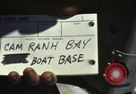 Image of naval bases Cam Ranh Bay Vietnam, 1970, second 8 stock footage video 65675067522