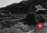 Image of Japanese farm Sugata Gifu Prefecture Japan, 1950, second 1 stock footage video 65675067530