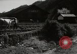Image of Japanese farm Sugata Gifu Prefecture Japan, 1950, second 4 stock footage video 65675067530