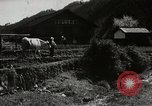 Image of Japanese farm Sugata Gifu Prefecture Japan, 1950, second 6 stock footage video 65675067530