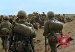 Image of 1st Cavalry Division Pleiku South Vietnam, 1965, second 8 stock footage video 65675067580