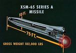 Image of XSM-65 Series A missile San Diego California USA, 1955, second 11 stock footage video 65675067624