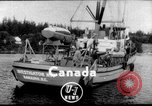 Image of under water camera Canada, 1952, second 3 stock footage video 65675067634