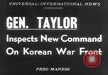Image of Maxwell Davenport Taylor Korea, 1953, second 1 stock footage video 65675067638