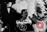 Image of girls display bonnet London England United Kingdom, 1953, second 1 stock footage video 65675067641