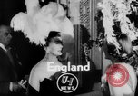 Image of girls display bonnet London England United Kingdom, 1953, second 2 stock footage video 65675067641