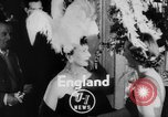 Image of girls display bonnet London England United Kingdom, 1953, second 3 stock footage video 65675067641