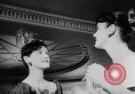 Image of girls display bonnet London England United Kingdom, 1953, second 12 stock footage video 65675067641