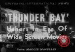 Image of film 'Thunder Bay' premier New York United States USA, 1953, second 1 stock footage video 65675067649