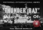 Image of film 'Thunder Bay' premier New York United States USA, 1953, second 2 stock footage video 65675067649