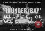 Image of film 'Thunder Bay' premier New York United States USA, 1953, second 3 stock footage video 65675067649
