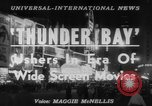 Image of film 'Thunder Bay' premier New York United States USA, 1953, second 4 stock footage video 65675067649