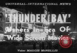 Image of film 'Thunder Bay' premier New York United States USA, 1953, second 5 stock footage video 65675067649