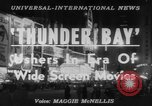 Image of film 'Thunder Bay' premier New York United States USA, 1953, second 6 stock footage video 65675067649