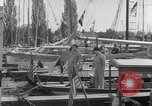 Image of Yacht race Seattle Washington USA, 1953, second 8 stock footage video 65675067650