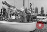 Image of Yacht race Seattle Washington USA, 1953, second 9 stock footage video 65675067650