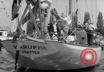 Image of Yacht race Seattle Washington USA, 1953, second 12 stock footage video 65675067650