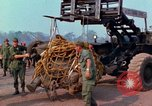 Image of Elephant airlifted Vietnam, 1968, second 2 stock footage video 65675067651
