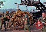 Image of Elephant airlifted Vietnam, 1968, second 4 stock footage video 65675067651