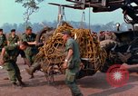 Image of Elephant airlifted Vietnam, 1968, second 6 stock footage video 65675067651