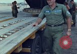 Image of Elephant airlifted Vietnam, 1968, second 2 stock footage video 65675067655