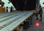 Image of Elephant airlifted Vietnam, 1968, second 8 stock footage video 65675067655