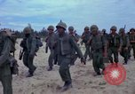 Image of Marine battalions Chu Lai Vietnam, 1965, second 9 stock footage video 65675067665
