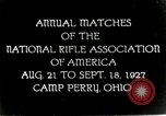 Image of matches of National Rifle Association Ohio United States USA, 1927, second 1 stock footage video 65675067673