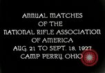 Image of matches of National Rifle Association Ohio United States USA, 1927, second 3 stock footage video 65675067673