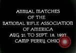 Image of matches of National Rifle Association Ohio United States USA, 1927, second 7 stock footage video 65675067673