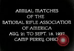 Image of matches of National Rifle Association Ohio United States USA, 1927, second 8 stock footage video 65675067673
