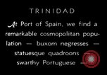 Image of local people Trinidad, 1936, second 2 stock footage video 65675067691