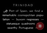 Image of local people Trinidad, 1936, second 3 stock footage video 65675067691