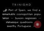 Image of local people Trinidad, 1936, second 6 stock footage video 65675067691