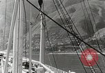 Image of Tourists leave ship by motorboat to visit Vargas Venezuela, 1936, second 9 stock footage video 65675067694