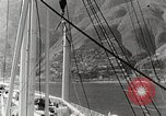 Image of Tourists leave ship by motorboat to visit Vargas Venezuela, 1936, second 12 stock footage video 65675067694