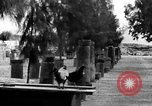 Image of damaged monuments Capernaum Palestine, 1936, second 7 stock footage video 65675067738