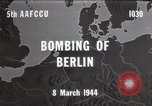 Image of Bombing of Berlin Germany, 1944, second 1 stock footage video 65675067746