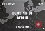 Image of Bombing of Berlin Germany, 1944, second 5 stock footage video 65675067746