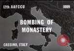 Image of Bombing of Monastery Cassino Italy, 1944, second 2 stock footage video 65675067747