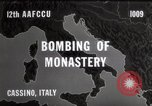 Image of Bombing of Monastery Cassino Italy, 1944, second 3 stock footage video 65675067747