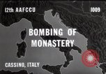 Image of Bombing of Monastery Cassino Italy, 1944, second 4 stock footage video 65675067747