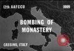 Image of Bombing of Monastery Cassino Italy, 1944, second 5 stock footage video 65675067747